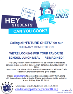 Future Chefs Feb 28