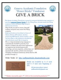 GAF Honor Bricks April 4