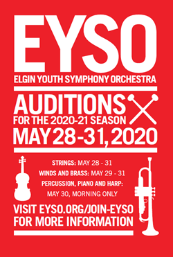 EYSO Spring Auditions May 25