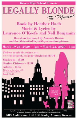 Legally Blonde March 20