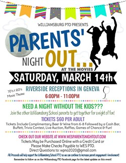 Parents Night Out March 14