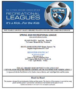 TriCities Soccer Spring April 3