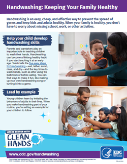 Handwashing: Keeping Your Family Healthy