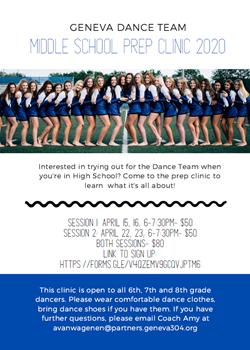 Prep Clinic 2020 Flyer April 22