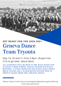 Tryouts 2020 May 21
