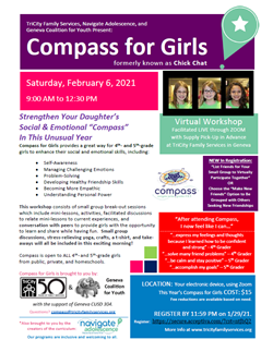 Compass for Girls Feb 7