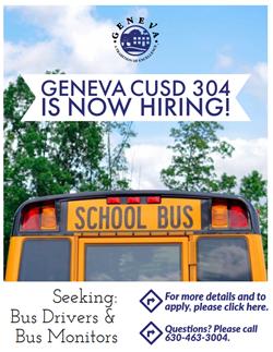 Now Hiring Bus Flyer June 30