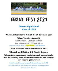 Viking Fest Invite 2021 Aug 11