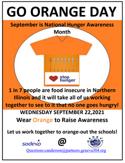 Go Orange Sept 23