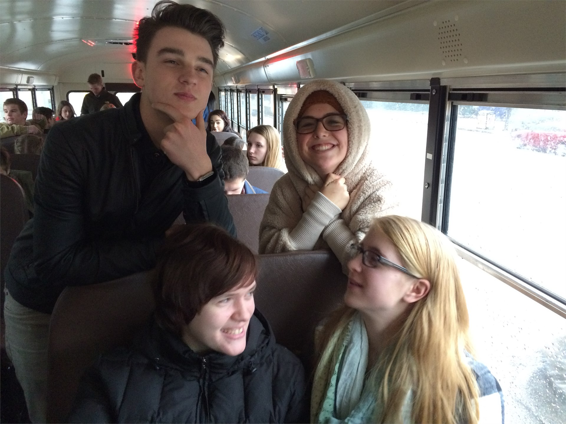 Geneva 304 students on the road