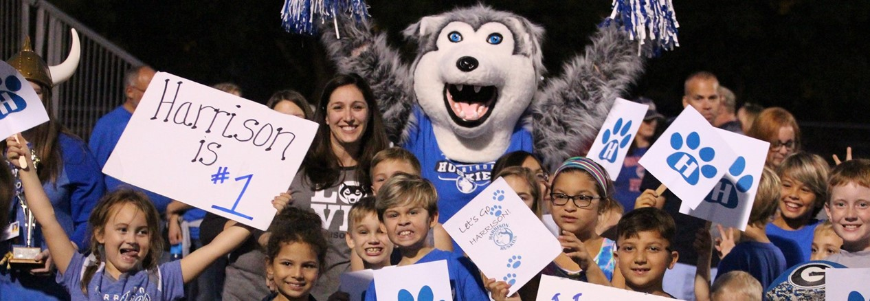 Harrison Street Elementary School Students Get Pumped at Homecoming Pep Rally