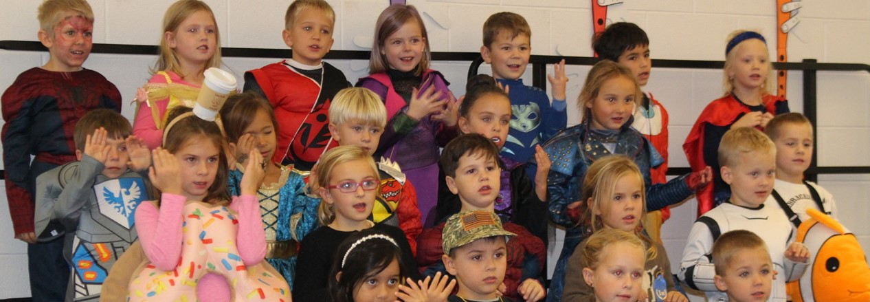 Mill Creek Students Practice Singing