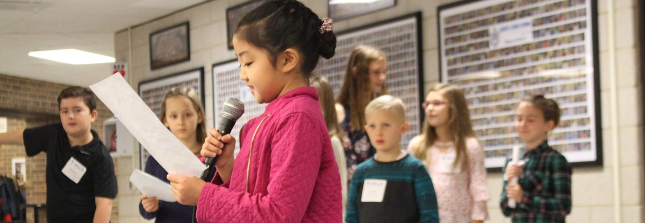 Mill Creek Students Deliver a Presentation at the annual Leadership Breakfast