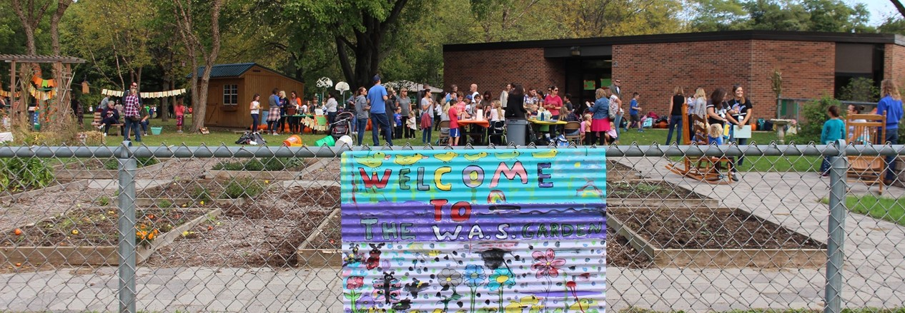 Western Avenue School's garden is harvested and ready for a new year