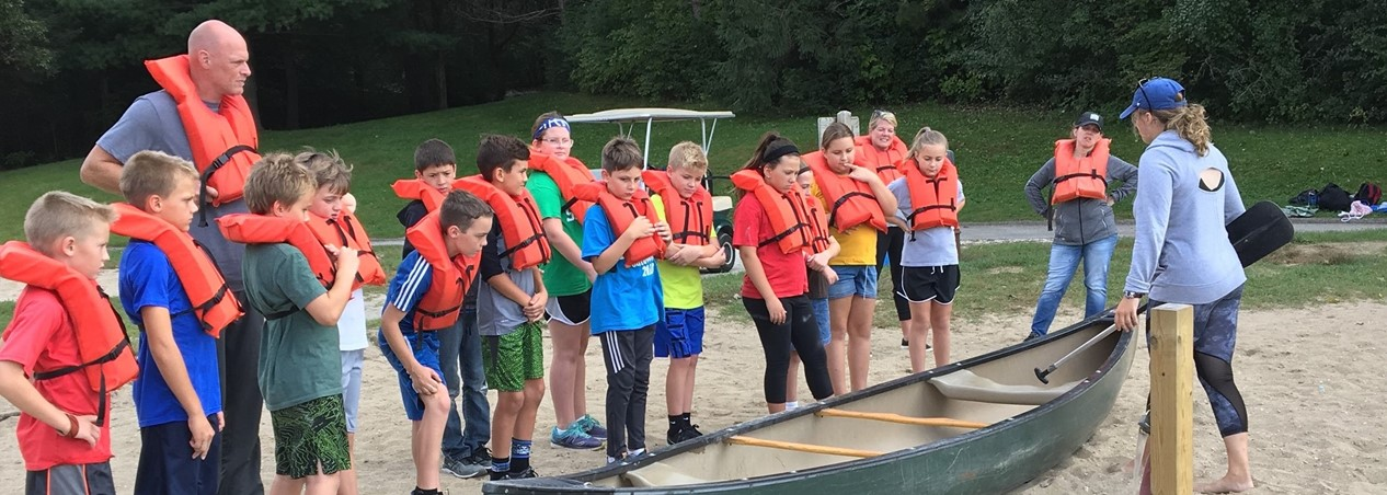 Outdoor Ed canoe