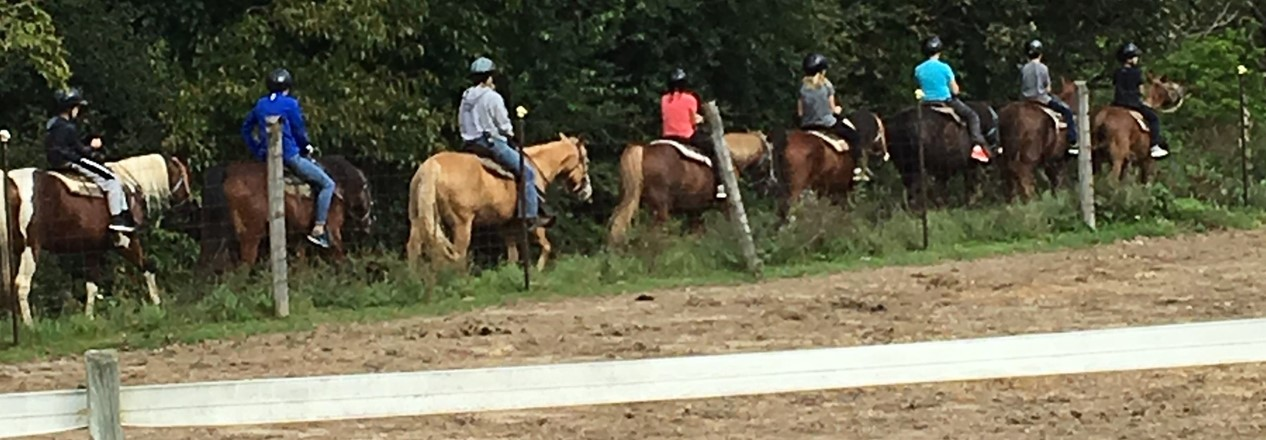Outdoor Ed Horseback riding