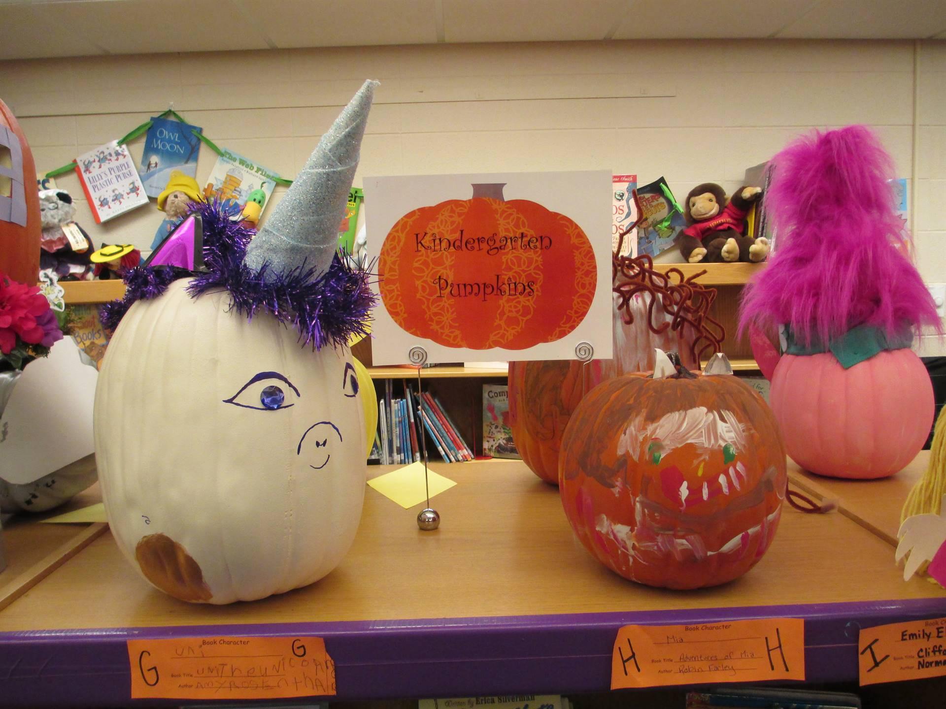 Kindergarten Pumpkins