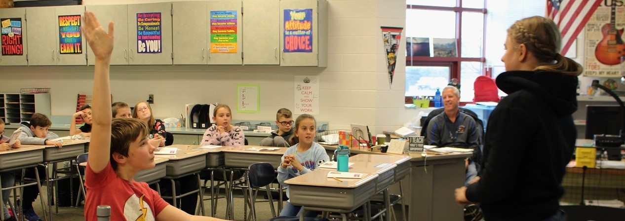 AFS Exchange Students Visit Mill Creek Classrooms