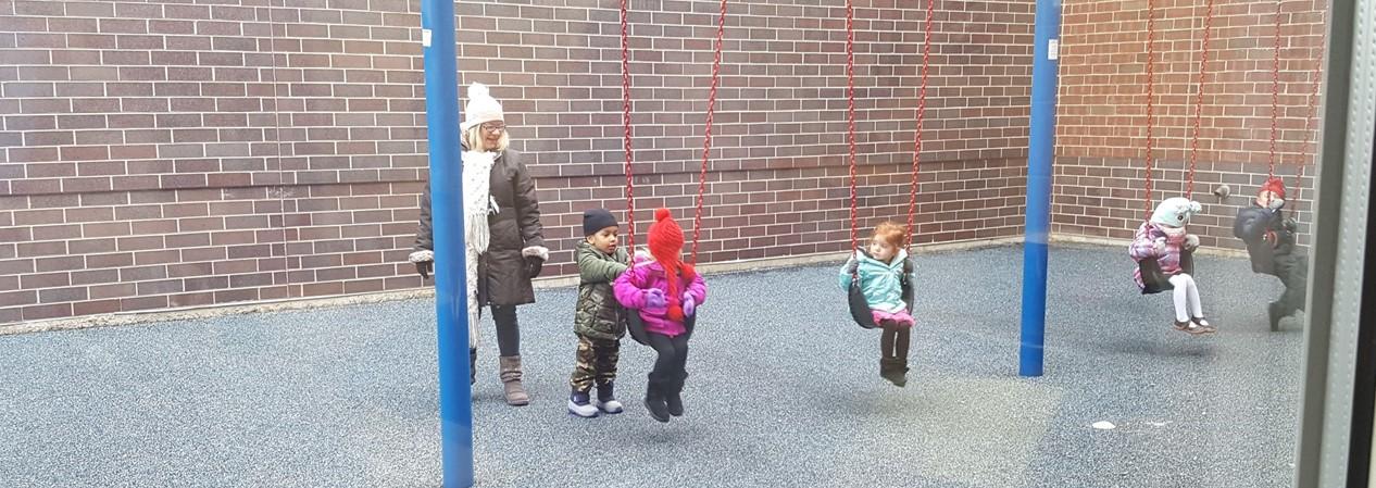 Helping on swings