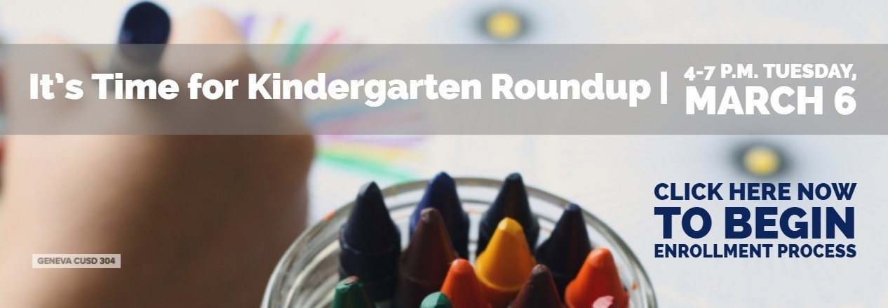 Kindergarten Roundup Enrollment is Ready for fall 2018-19