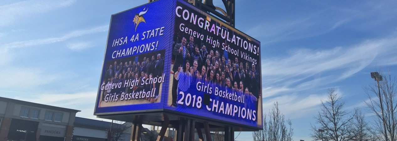 Geneva Commons Congratulates Girls Basketball State Champs