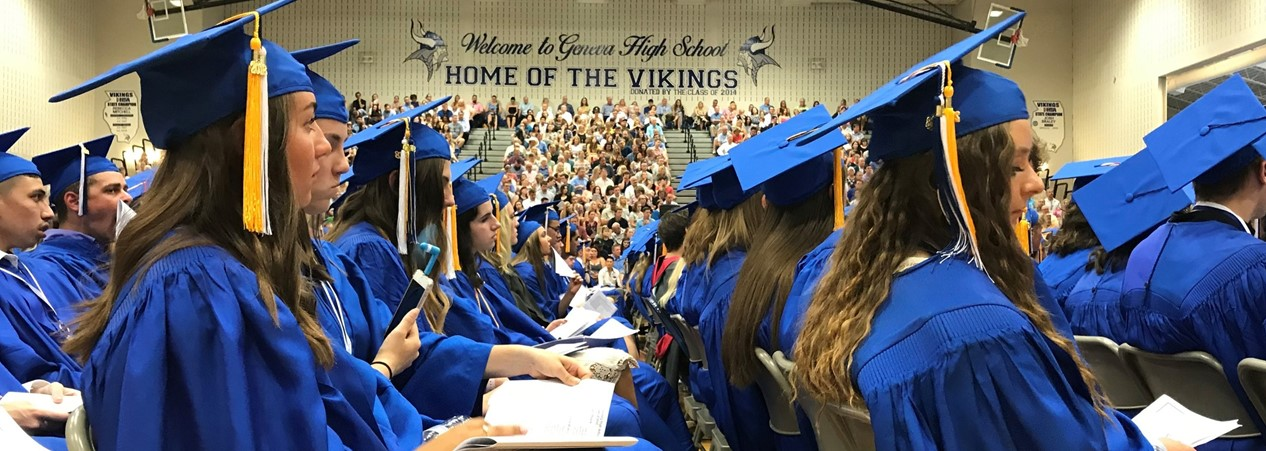 GHS Graduation Day in Gym 2018