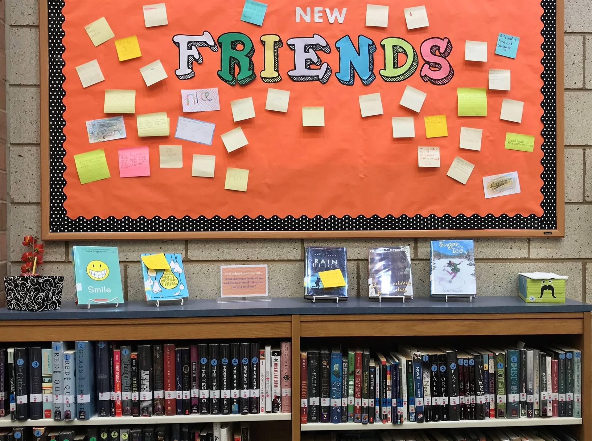 Featured Books Highlighting Theme: New Friends