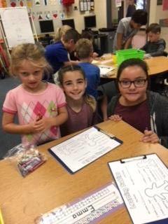 Emma and 4th Grade Buddies