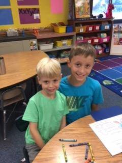 Henry  and 4th Grade Buddy