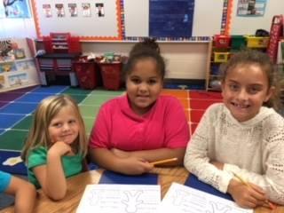 Wilhelmina and 4th Grade Buddies