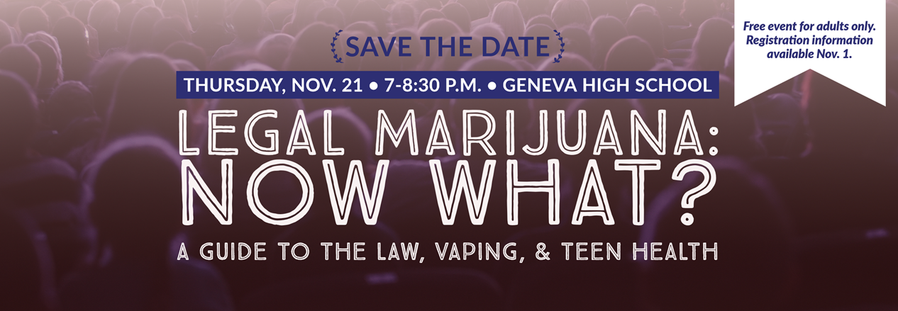 Legal Marijuana: Now What? Community Event at GHS Nov. 21 7-8:30 pm