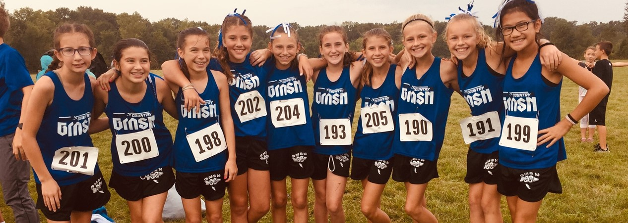 Cross Country Girls 2019