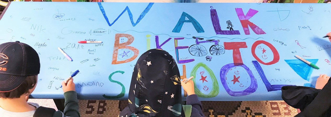 WAS Walk Bike to School Day 2019