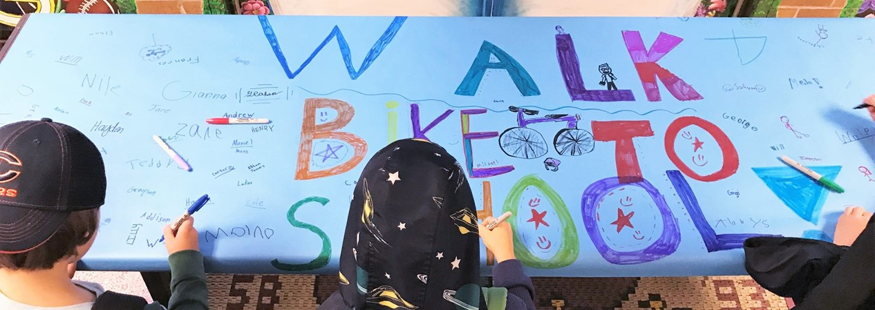 WAS Walk Bike to School Day 2019