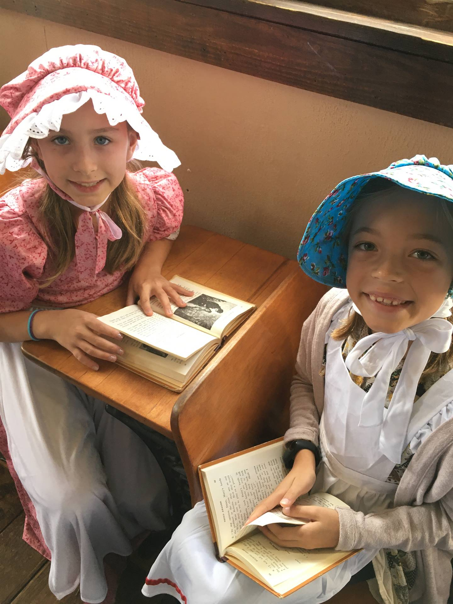 Children at a One Room Schoolhouse
