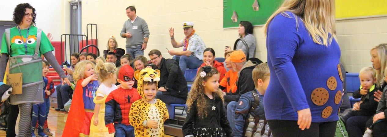 Geneva Early Learning Program Halloween Parade 2019