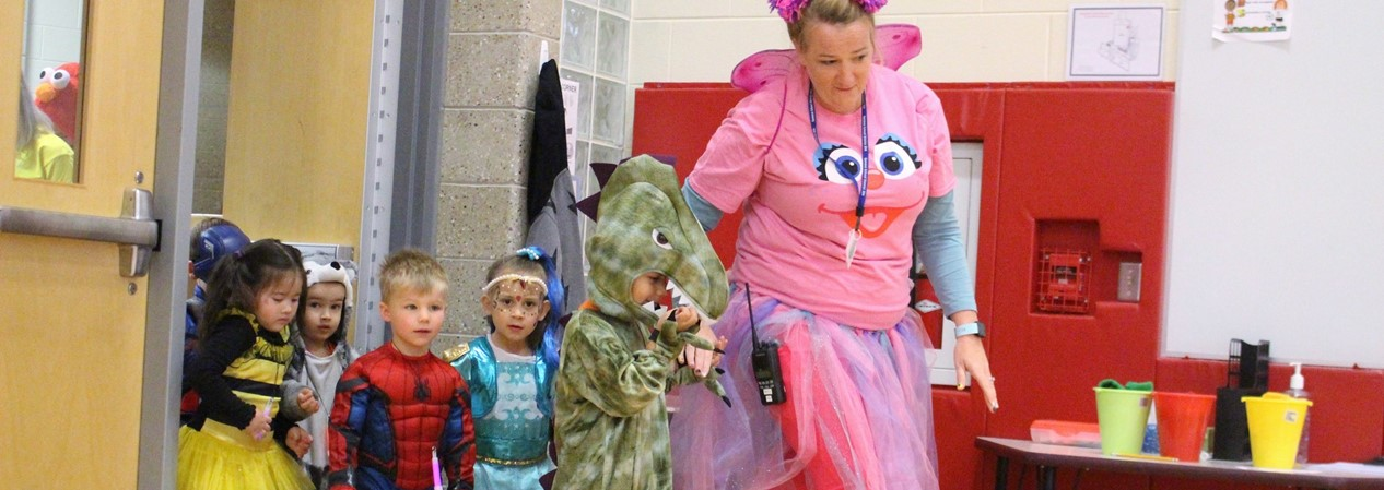 Geneva Early Learning Program Halloween Parade 2019