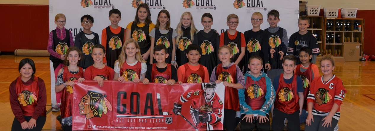 Blackhawks Goal Camp