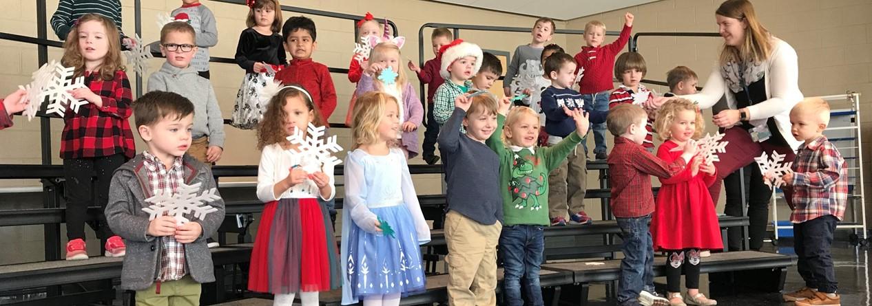 GELP Preschool Students Perform at Winter Concert
