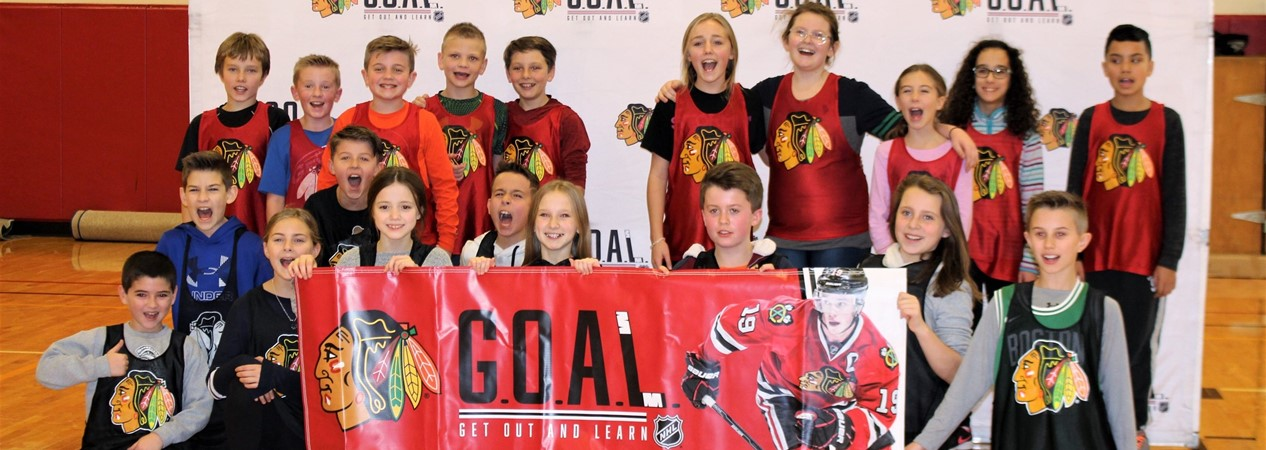 Blackhawks GOAL Clinic at GHS