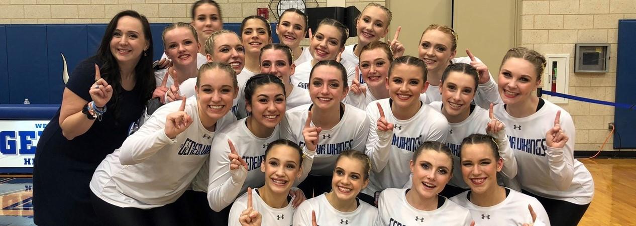 GHS Varsity Dance Team Wins Sectional