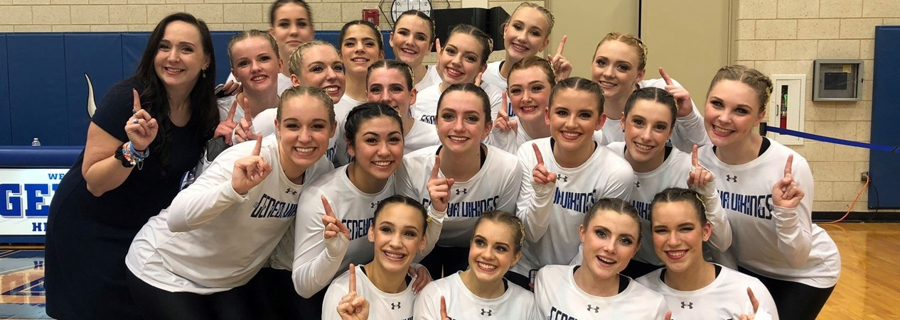 GHS Varsity Dance Team Wins Sectional