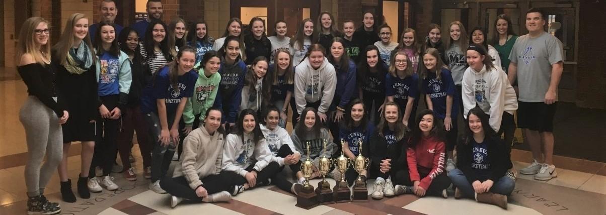 GMSN Girls Basketball Teams - 7A, 7B, 8A, 8B