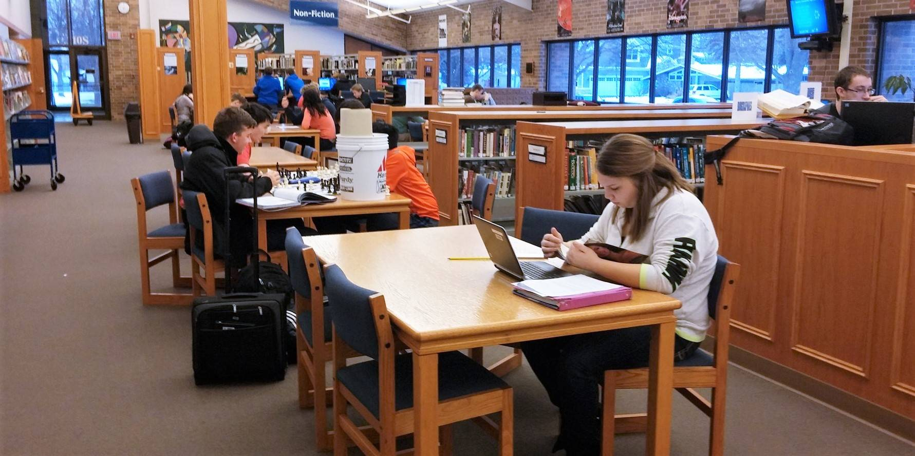 Library at GHS