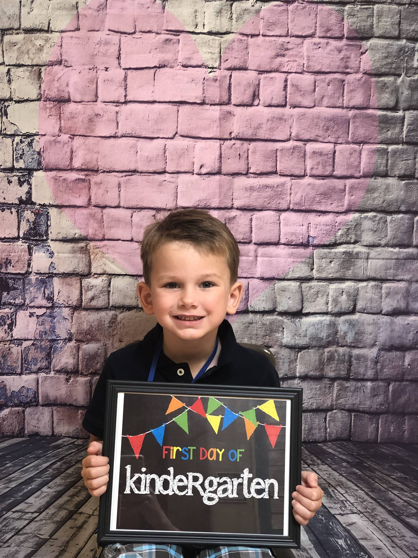 First Day of Kindergarten!