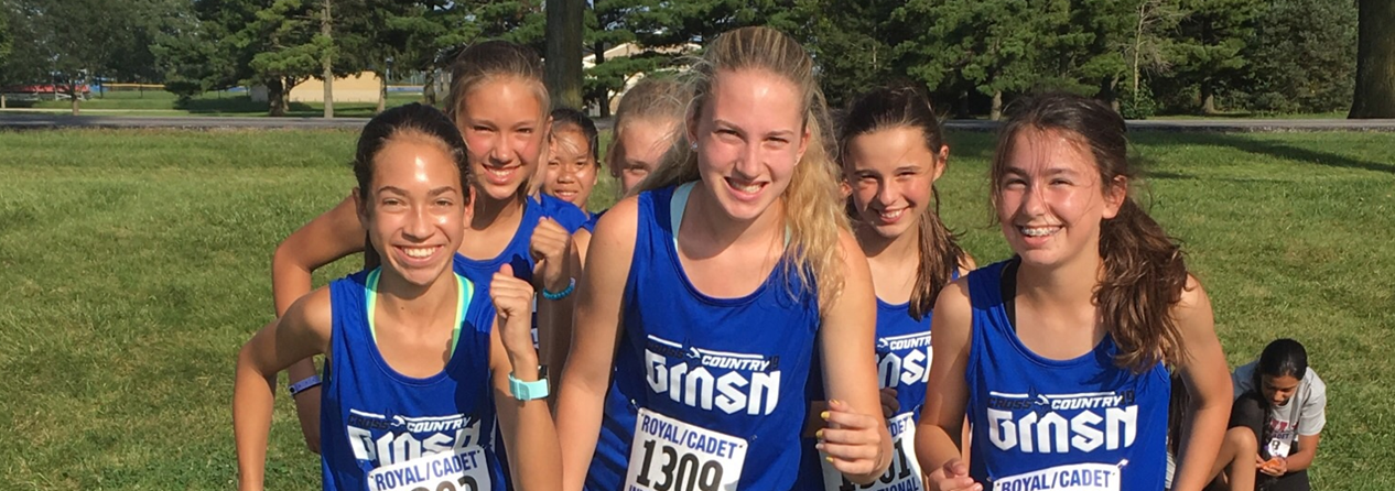 Girls Cross Country Ready to Race