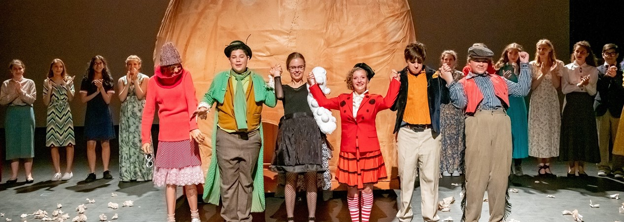 GHS James and Giant Peach Play