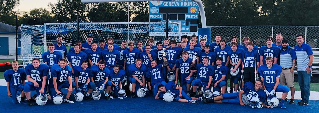 GMS Football Conference Champs