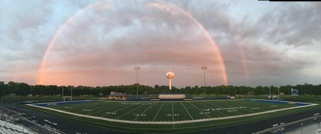 Burgess Field Rainbow