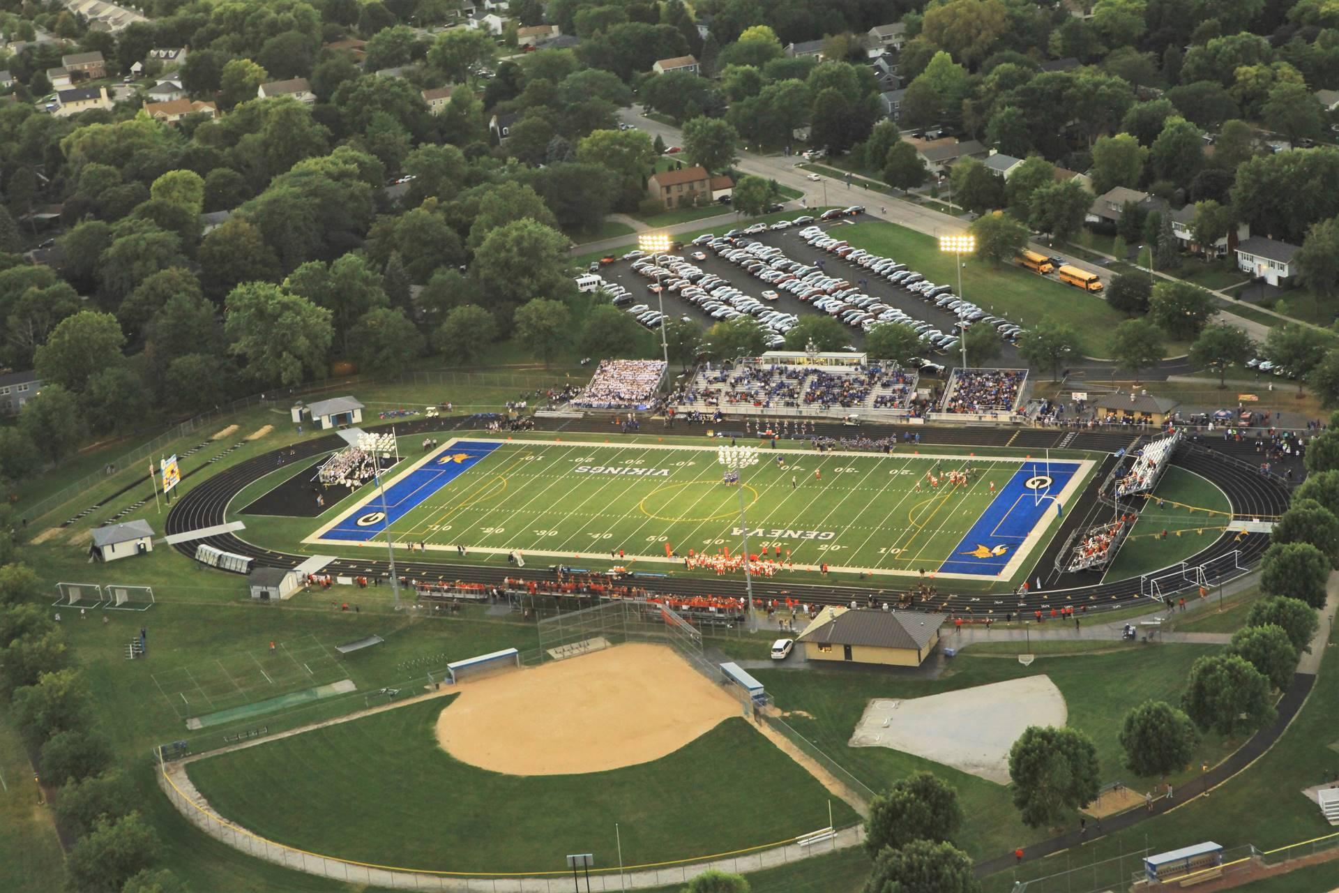 Aerial Burgess Field 2
